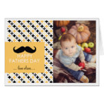 Retro Pattern | Mustache Father's Day Card