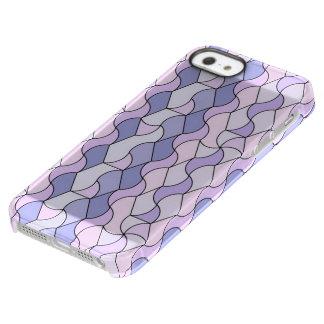 retro pattern OWEN blue Uncommon Permafrost® Deflector iPhone 5 Case