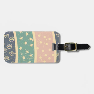 retro-pattern.png travel bag tags