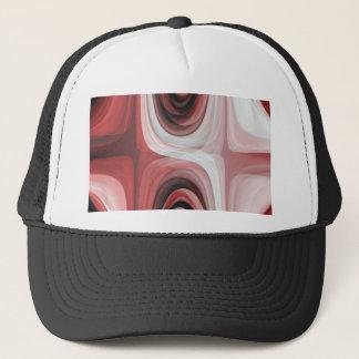 Retro Pattern red created by Tutti Trucker Hat