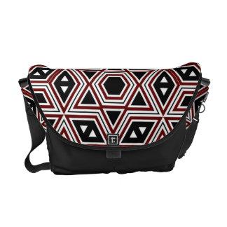 Retro Pattern Seamless Art #2 Messenger Bag