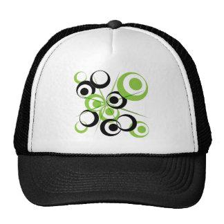 retro pattern trucker hat