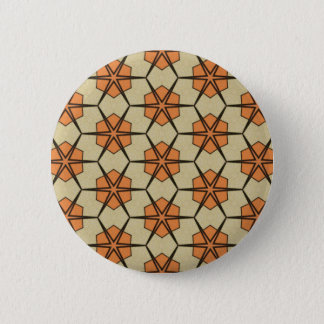 Retro patterned button