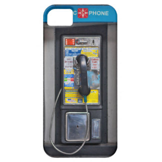 Retro Pay Phone Photo on your iPhone 5 Case