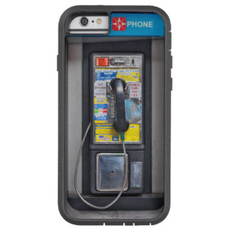 Retro Pay Phone Photo on your iPhone 6 Case