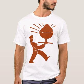 Retro PC Logo (clean red) T-Shirt