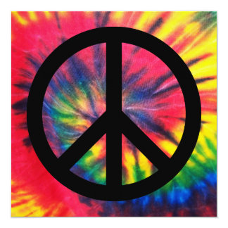 Retro Peace Card