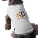 Retro Peace Doggie Tee