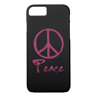 Retro Peace Sign iPhone 8/7 Case
