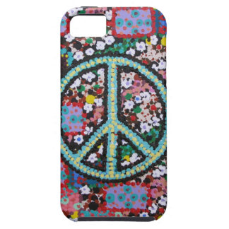 Retro Peace Sign iPhone SE/5/5s Case