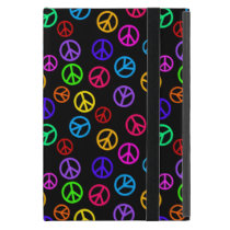 Retro Peace Sign Pattern Cover For iPad Mini