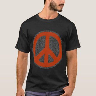 retro peace sign T-Shirt