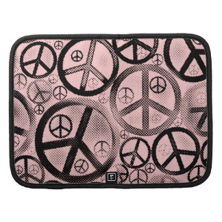 Retro Peace Signs Planners