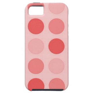 Retro Peachy Keen Peach Polkadot Case-Mate Vibe iPhone 5 Covers
