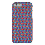 Retro Peacock Feathers Barely There iPhone 6 Case