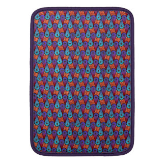 Retro Peacock Feathers Sleeves For MacBook Air