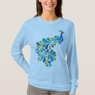 Retro Peacock T-Shirt