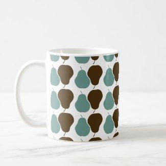 Retro Pears mug