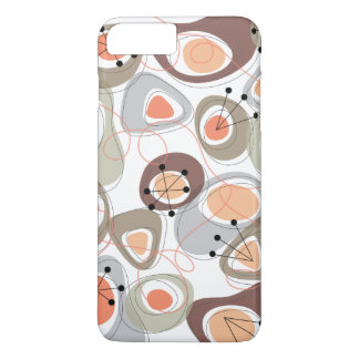 Retro Pebbles Lava Shapes Beach Groovy Fun Casing iPhone 7 Plus Case