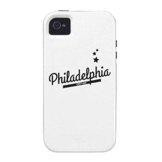 Retro Philadelphia Logo iPhone4 Case