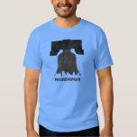 Retro Philadelphia Skyline-Men T-Shirt