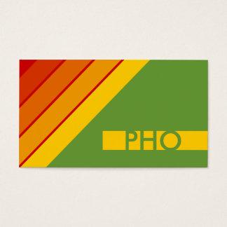 retro PHO Business Card