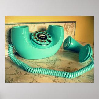retro phone 2 print