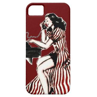 Retro Phone Caller (D) iPhone SE/5/5s Case