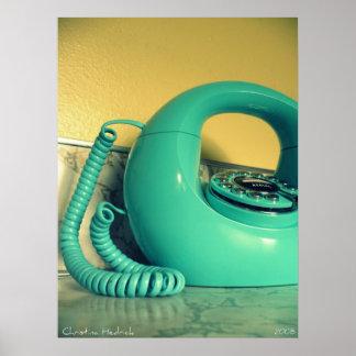 retro phone posters