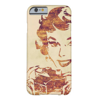 Retro photographer barely there iPhone 6 case