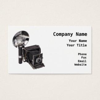 Retro Photographer Business Card