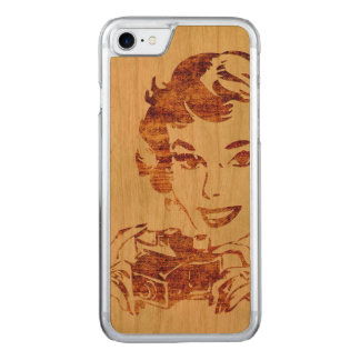 Retro photographer carved iPhone 8/7 case