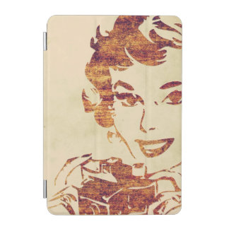 Retro photographer iPad mini cover