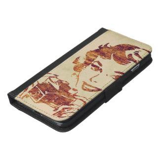 Retro photographer iPhone 6/6s plus wallet case