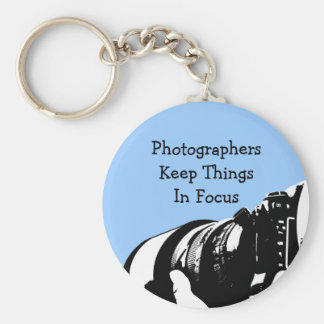 Retro Photographer Keychain Gifts