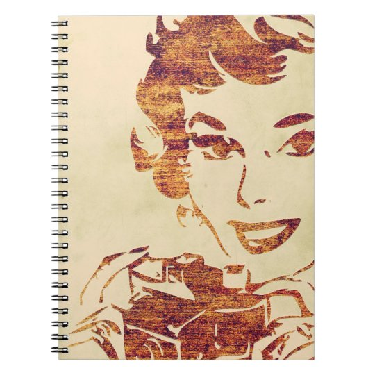 Retro photographer notebook
