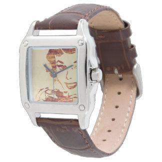 Retro photographer wrist watch