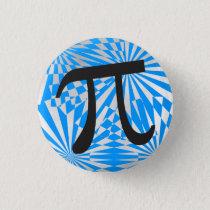 Retro Pi Symbol Button