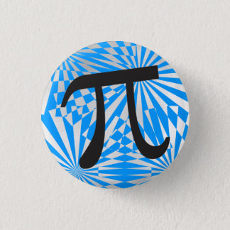 Retro Pi Symbol Button