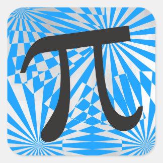 Retro Pi Symbol Stickers - Cool Pi Day Gift