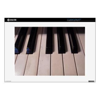 Retro Piano Keys Laptop Decal