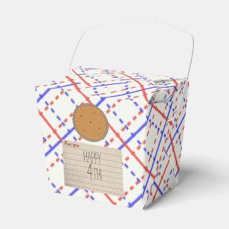 Retro Pie Party Party Favor Box