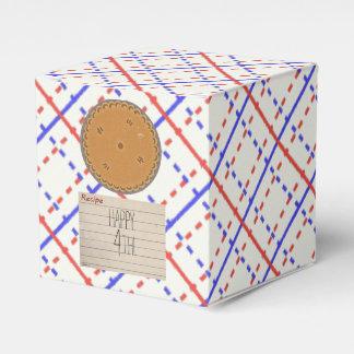 Retro Pie Party Party Favor Boxes