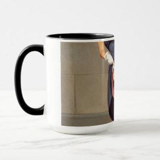 Retro Pin-Up Girl Mug