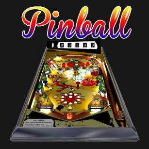 Pinball Machine T-Shirts - T-Shirt Design & Printing | Zazzle