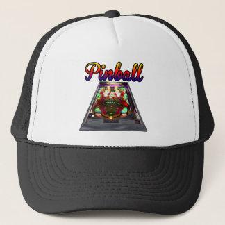 Retro Pinball Machine Design Trucker Hat