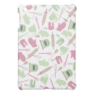 Retro Pink Cooking Themed iPad Mini Case