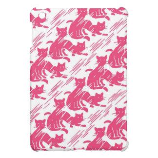 Retro Pink Kitties iPad Mini Case