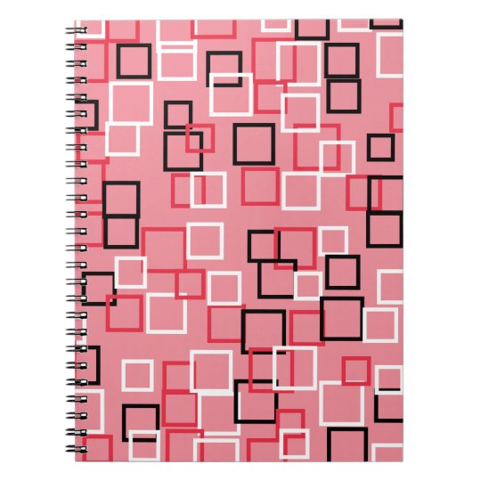 Retro Pink School Office Student Notebook Gift