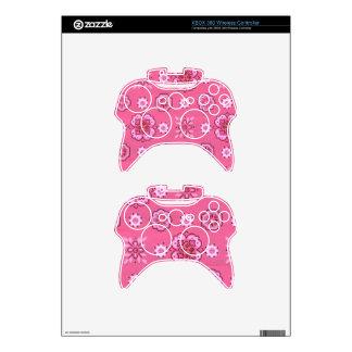 Retro Pink Xbox 360 Controller Skin